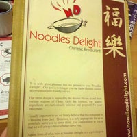 Photo taken at Noodles Delight by Mio O. on 11/15/2012