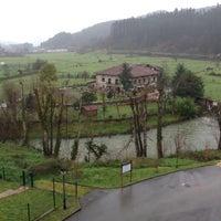 Photo taken at Hesperia Areatza Spa Hotel by Frebaque on 2/4/2013