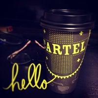 Photo taken at Cartel Coffee Lab by Dani G. on 6/18/2013