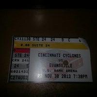 Photo taken at Cincinnati Cyclones Power Play 5K by Greg G. on 12/1/2012