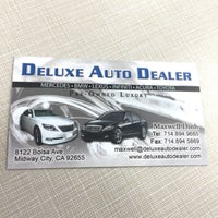 Photo taken at Deluxe Auto Dealer by Maxwell D. on 6/9/2016