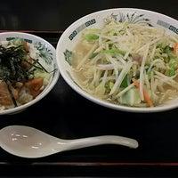 Photo taken at 日高屋 小岩北口店 by さかいとらお on 12/21/2015