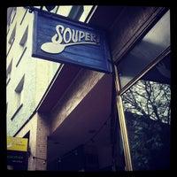 Das Foto wurde bei Souper! Die Suppenkueche von Mo M. am 11/28/2012 aufgenommen