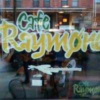 Photo taken at Café Raymond by EJ C. on 10/28/2012