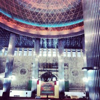 Photo taken at Masjid Istiqlal by Jun Y. on 1/26/2013