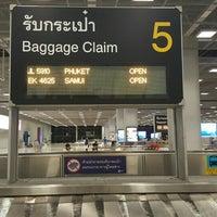 Photo taken at Baggage Claim 5 by Jaeng C. on 6/6/2016