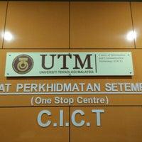 Photo taken at Pusat Komputer UTM (CICT) by Akmal_ I. on 4/29/2016