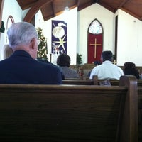 Photo taken at Trinity United Methodist Church by Joy B. on 1/6/2013