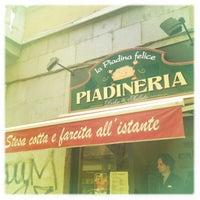 Photo taken at La Piadina Felice by Symon B. on 4/23/2013
