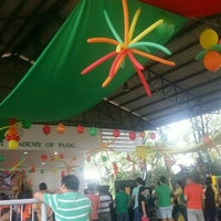 Photo taken at Sacred Heart Academy Pasig by Gem T. on 12/5/2015