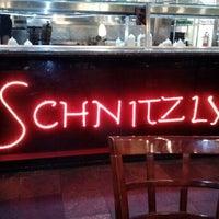 Photo taken at Schnitzly Schnitzel Bar by Josh R. on 1/29/2013
