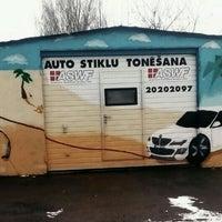 Photo taken at ASWF stiklu tonēšana by Simona Š. on 3/19/2016