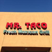 Photo taken at Mr Taco : Fresh Mexican Grill by Marwan K. on 2/17/2013