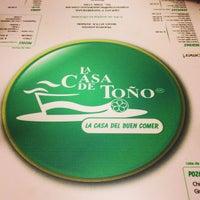 Photo taken at La Casa de Toño by Juan Carlos R. on 5/30/2013