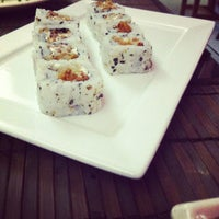 Photo taken at Sushi Canting by Pedro S. on 1/6/2013