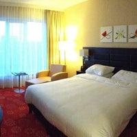 Photo taken at Hilton Garden Inn Leiden by Vitaliy R. on 4/29/2013