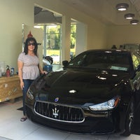 Photo taken at Maserati Auto Gallery Woodland Hills by Alana R. on 5/18/2016