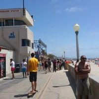 Photo taken at Mission Beach Boardwalk by Tony U. on 5/27/2013