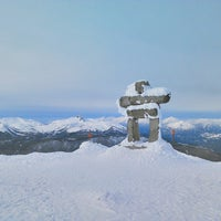 Photo taken at Whistler Mtn. Peak by Macoto I. on 3/19/2013
