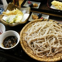 Photo taken at 戸隠 伊勢屋そば店 by Macoto I. on 10/7/2014