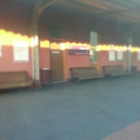 Photo taken at Swan Hill Train Station by Yana H. on 1/7/2013