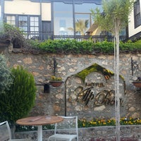 Photo taken at Alp Paşa Boutique Hotel by TC Ayşe B. on 4/7/2018