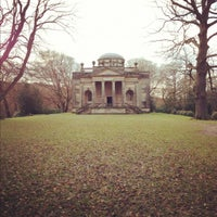 Photo taken at Gibside Chapel and Grounds by Kieron D. on 12/1/2012