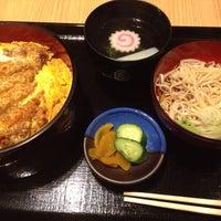 Photo taken at そば処 砂場 by Shinji S. on 6/18/2014