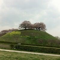 Photo taken at さきたま古墳公園 by Shinji S. on 4/6/2013