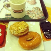 Photo taken at Krispy Kreme by Christian Armin L. on 4/10/2013