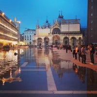 Photo taken at Saint Mark's Square by Yousef B. on 5/22/2013