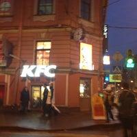 Photo taken at KFC by Marina K. on 4/13/2013