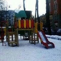 Photo taken at Детская площадка by Repina S. on 1/8/2013
