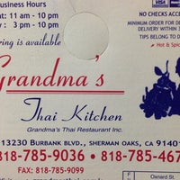 Photo taken at Grandma's Thai Kitchen by Robert J. on 1/9/2014