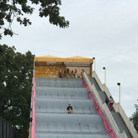 Photo taken at The Giant Slide by Alison J. on 9/1/2017