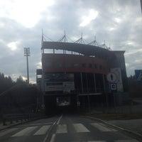 Photo taken at Skocznia Malinka im. Adama Małysza by Michał G. on 3/17/2014