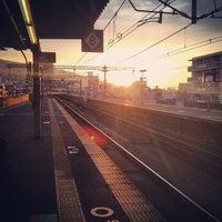 Photo taken at Rokkōmichi Station by Akinori I. on 5/31/2013