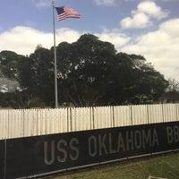 Photo taken at USS Oklahoma Memorial by Thelonious on 2/1/2017