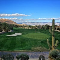 Photo taken at Bighorn Golf Club by Jerry K. on 11/28/2015