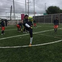 Photo taken at Escuela de Futbol Chivas Zacatecas by Aleex D. on 10/17/2015