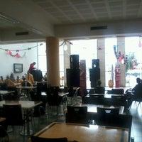 Photo taken at Food Court Technopolis by Abderrahman E. on 3/8/2013