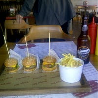Photo taken at Burger Bar by İsmail G. on 1/22/2013