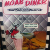 Photo taken at Moab Diner by Jack E. on 3/19/2013