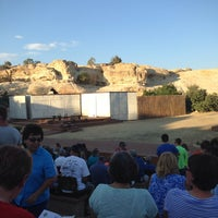 Photo taken at Lion's Wilderness Amphitheater - PRCA by Jack E. on 7/19/2014