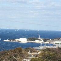 Photo taken at 塚山公園 見晴台 by Umitsuki M. on 2/21/2016
