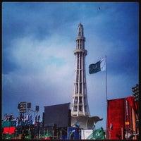 Photo taken at Minar-e-Pakistan by Syed Ali A. on 3/23/2013