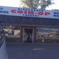 Photo taken at highlander coin op laundry by Darrel T. on 6/19/2013