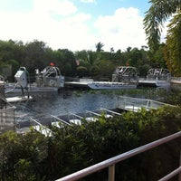 Photo taken at Everglades Safari Park by Sibel O. on 1/30/2013
