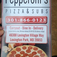 Photo taken at Pepperoni's Pizza and Subs by Rynda R. on 4/10/2013
