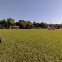 Photo taken at St Luke's Soccer Fields by Jason F. on 10/12/2013